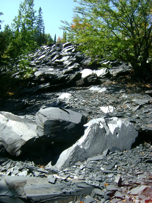 Arvin Slate Quarry as it looks today