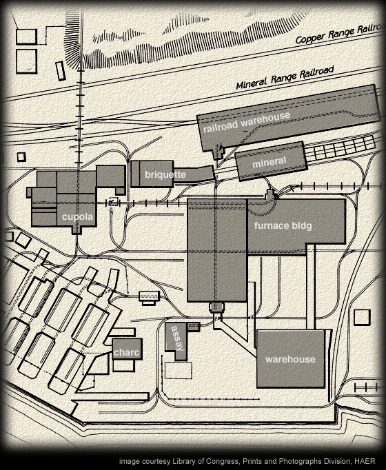Quincy Smelter Map