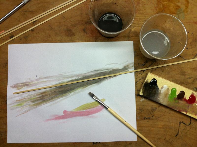 Painting Ties