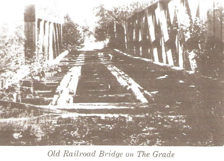 Bridge Remains on the Peshekee Grade