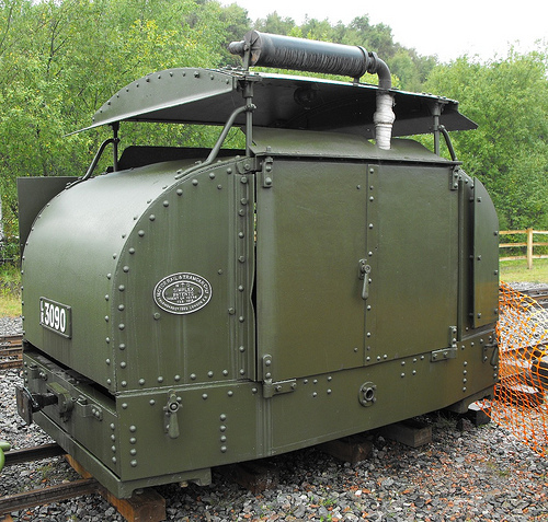 Armored English Locomotive