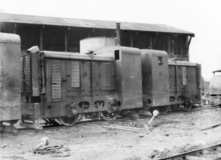 40HP petrol locomotives 1917
