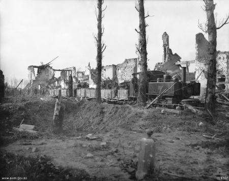 Cook steam locomotive 1917