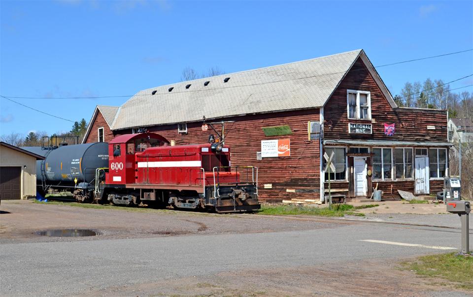 Downtown National Mine, MI