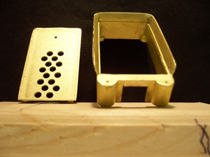 Brass Tender Shell