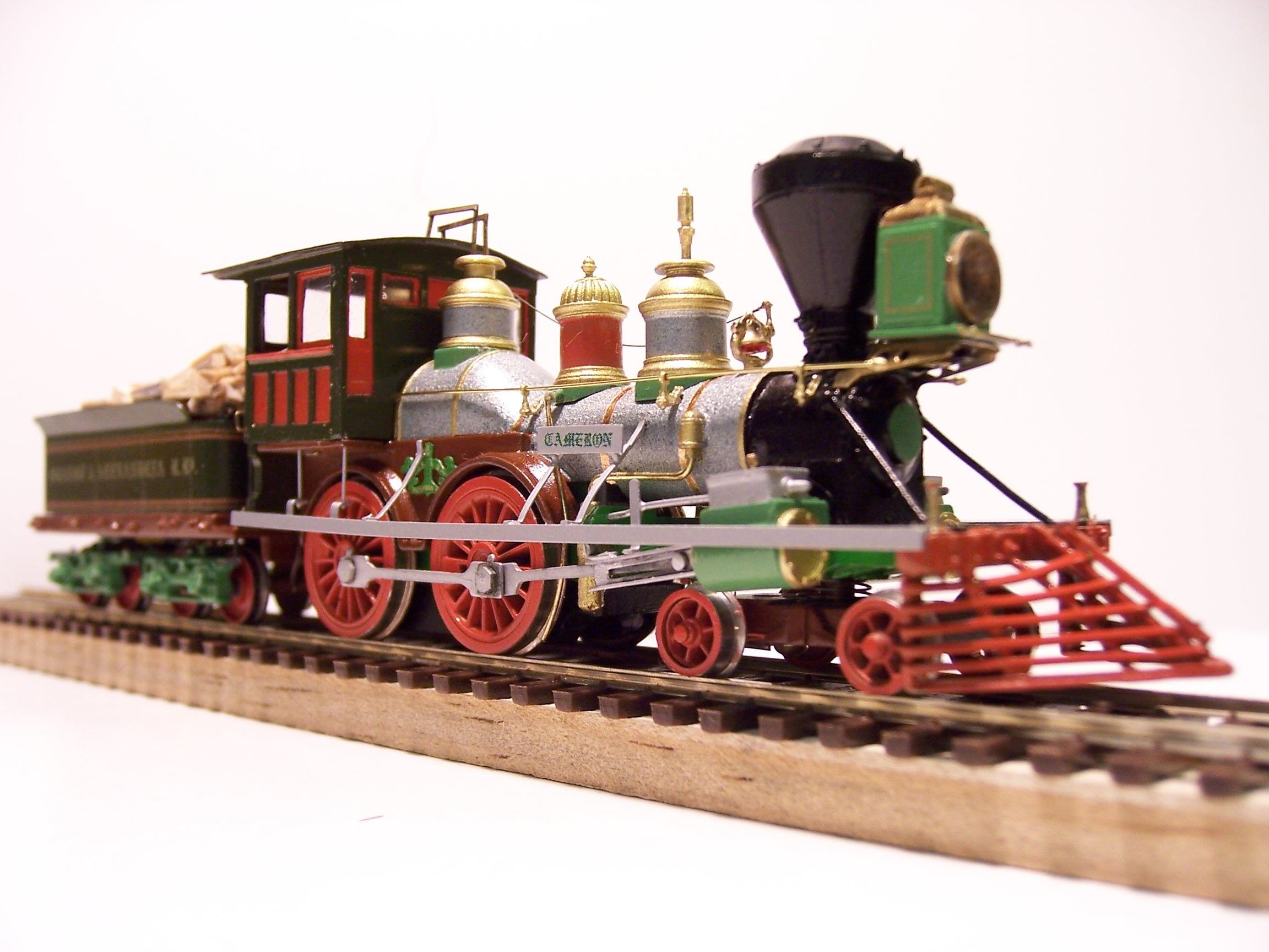 The General Train Steam Lo otive Model on Mantua Motor Replacement