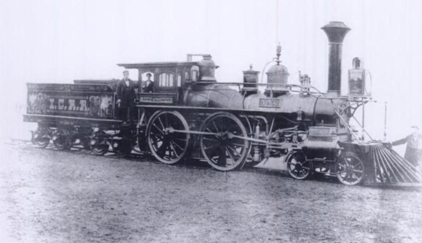 4-4-0 Early IC Coal Locomotive No 31