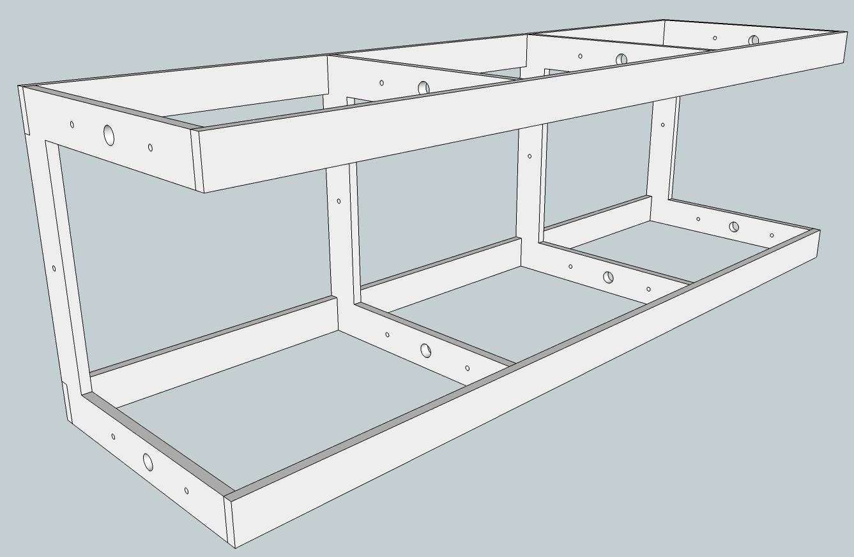 Build Wooden Shelf Layout Design Plans Download Shaker