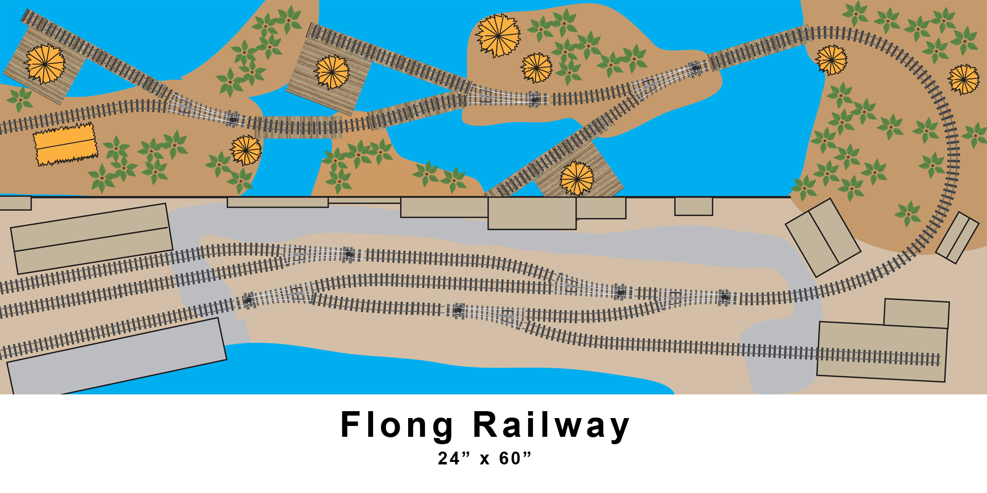 Small Layout Ideas The Flong Railway Model Railroads