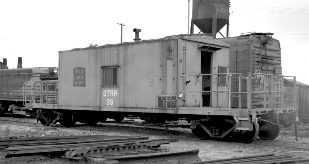 Detroit Terminal RR caboose