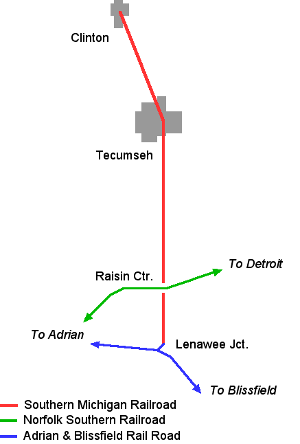 SMRS Route Map Today
