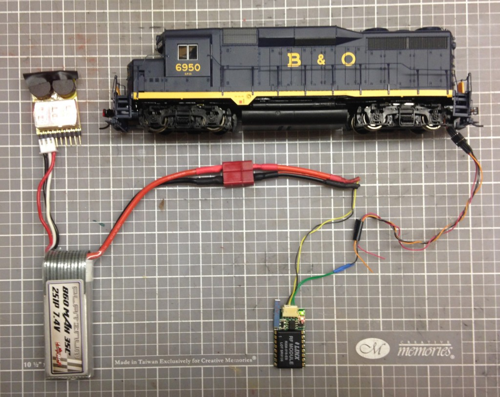 Components from an upcoming clinic on Dead Rail