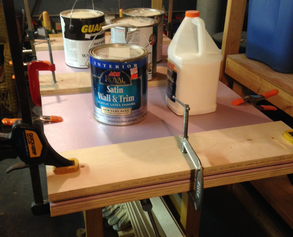 Plywood Foam Sandwich Construction : Building a free mo module part i small model railroads