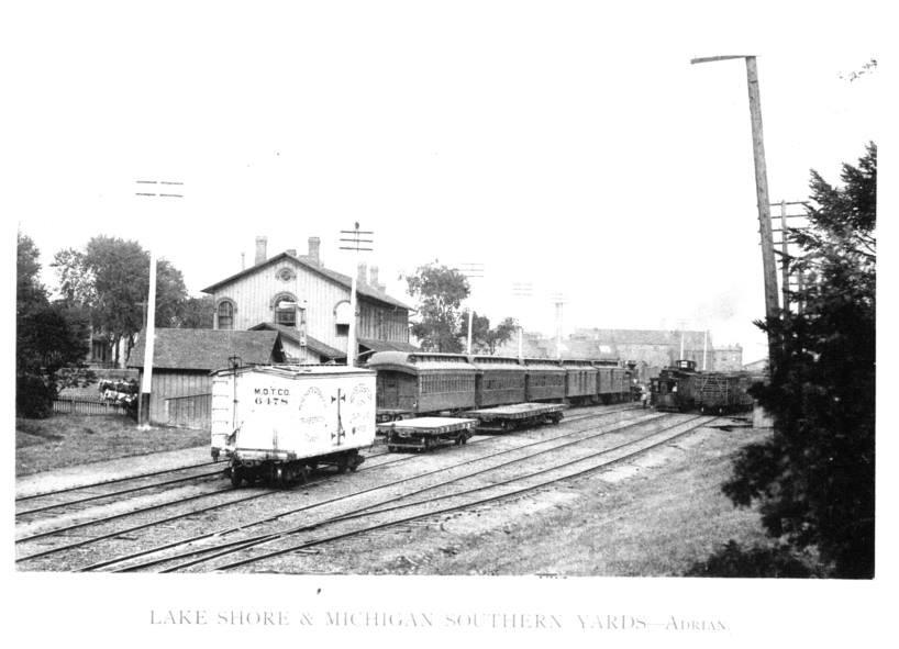 1890's Adrian LS&MS Yard