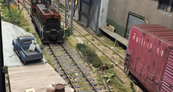 Lionel Garing's O Scale Industrial Layout – Small Model