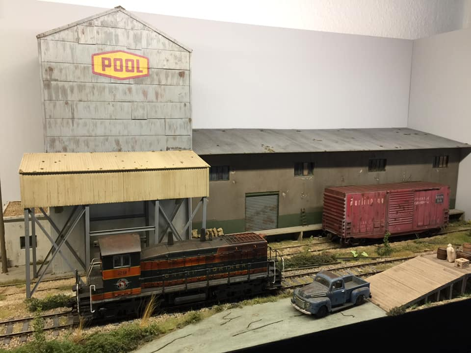 Lionel Garing's O Scale Industrial Layout